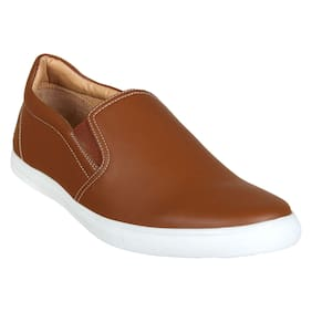 Franco Leone Men Tan Casual Shoes