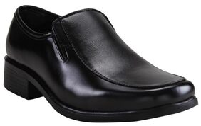 Franco Leone Men Black Formal Shoes - 9787