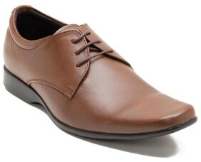 Franco Leone Men Tan Formal Shoes - 15026