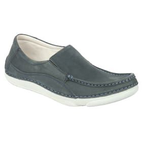 Franco Leone Men Blue Casual Shoes
