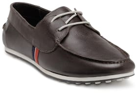 Franco Leone Men Brown Casual Shoes