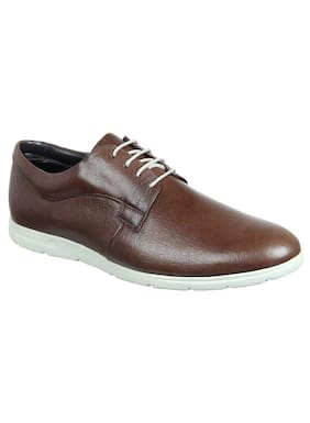 Franco Leone Men Brown Casual Shoes - 15078
