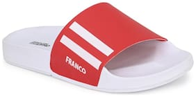 Franco Leone Men Red Flip-Flops - 1 Pair