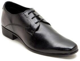 Franco Leone Black Synthetic Leather Formal_shoes