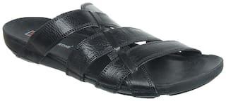 Franco Leone Men Black Sandals