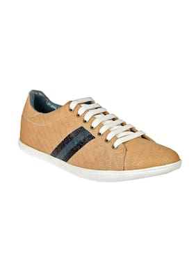 Franco Leone Men Beige Casual Shoes