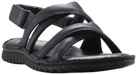 Franco Leone Men Black Sandals