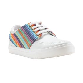 Franco Leone White Synthetic Casual_Shoes