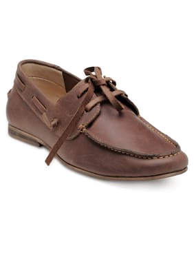 Franco Leone Men Brown Casual Shoes - 171101