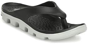 Franco Leone Men Black Flip-Flops - 1 Pair