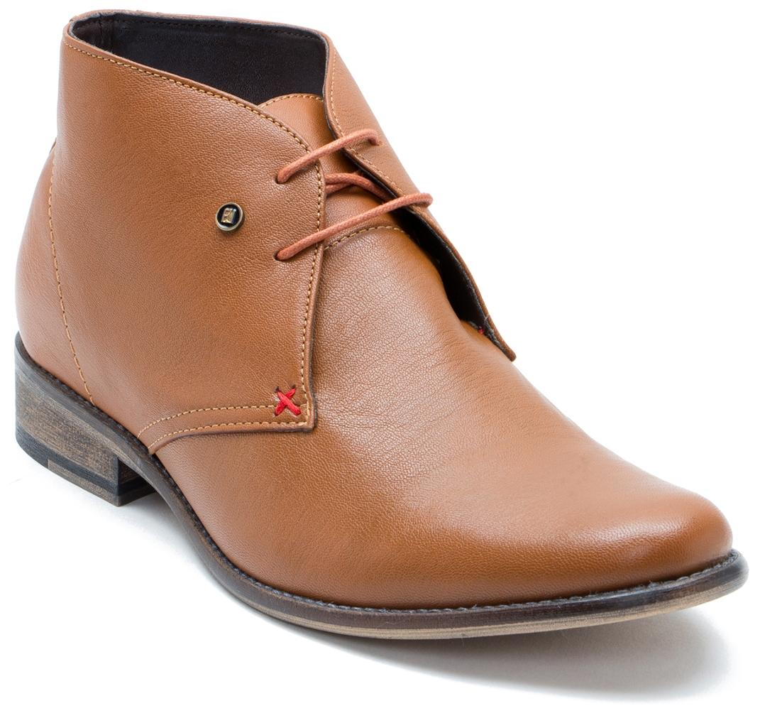 Franco Leone Men Tan Boot - 9778