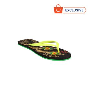 Franco Leone Green Slippers_And_Flip_Flops