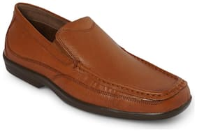 Men Tan Oxford Formal Shoes