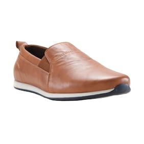 Franco Leone Men Tan Casual Shoes - 162202