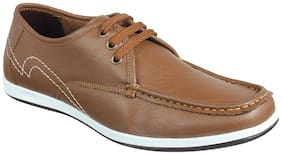Franco Leone Men Brown Casual Shoes -