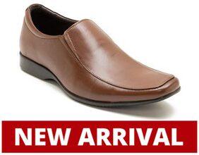 Franco Leone Men Tan Formal Shoes - 15028