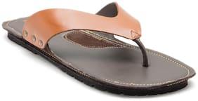 Franco Leone Men Tan Sandals & Floaters