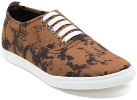Franco Leone Men Brown Sneakers