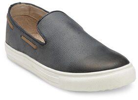 Franco Leone Men Black Casual Shoes - 15055