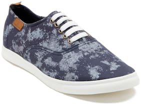 Franco Leone Men Blue Sneakers
