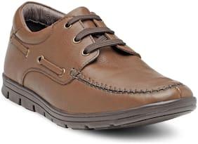 Franco Leone Men Tan Casual Shoes -