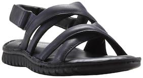 Franco Leone Men Black Sandals -