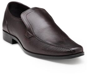 Franco Leone Brown Leather Formal_Shoes