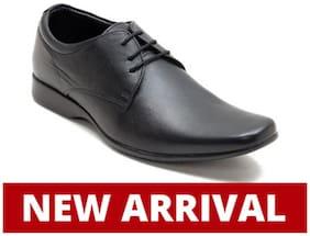 Franco Leone Men Black Formal Shoes - 15026