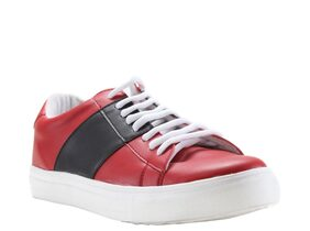 Franco Leone Men Red Casual Shoes