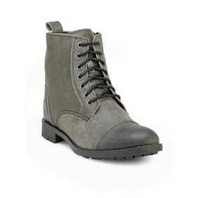 Franco Leone Grey Leather Boots