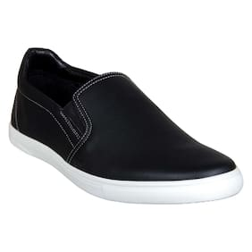 Franco Leone Men Black Casual Shoes