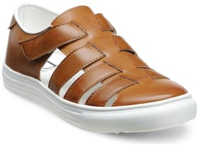Franco Leone Men Tan Sandals
