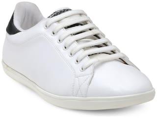 Franco Leone Men White Sneakers