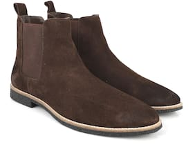 Freacksters Men Brown Chelsea Boots