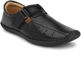 FREDDIN Men Black Sandals