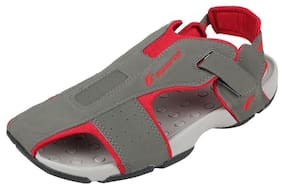 c5f19ba1c74c04 Fsports Men s SP4 Series Grey Synthetic Casual Sandals