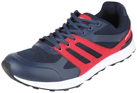Fsports Men's Pureplay Series Navy Red Synthetic Sports Shoes 9UK