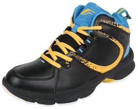 Fsports Men Black Running Shoes