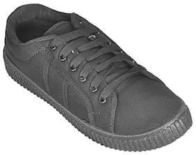 SIM STYLE Men Black Sneakers