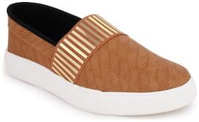 Funku Fashion Women Tan Casual Shoes