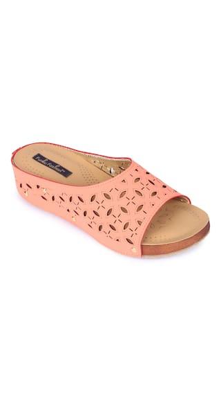 Funku Fashion Pink Wedges Heels