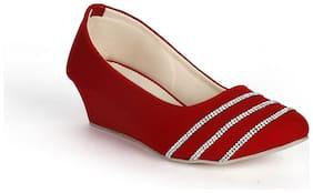 Funku Fashion Red Wedges