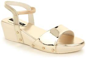 Funku Fashion Silver Wedges
