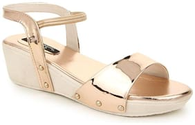 Funku Fashion Peach Wedges