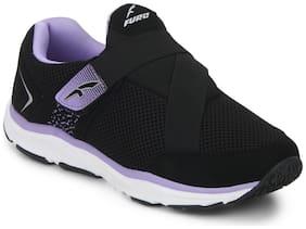 FURO Women Running Shoes ( Black )