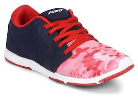 Furo By Red Chief Blue Women's Running Shoe (O-6001 858)