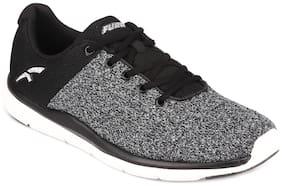 FURO Men O-5021 Walking Shoes ( Black )