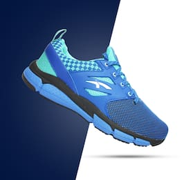 huge selection of b615b 54e41 FURO Men Blue Running Shoes