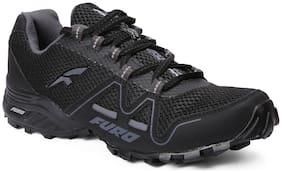 FURO Men Trekking/Hiking Shoes ( Black )
