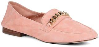 Aldo Women Pink Loafers